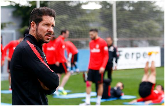 Comandante Simeone: o homem que derrubou o tiki-taka Fonte: Atlético de Madrid