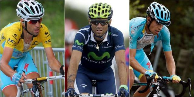 Nibali, Valverde e Landa partem como favoritos à conquista desta prova  Fonte: gazzettaworld.com