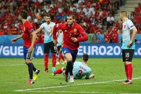 Alvaro Morata Espanha