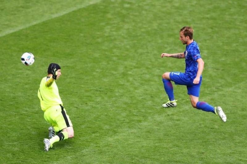 Rakitic fez uma excelente exibição Fonte: UEFA