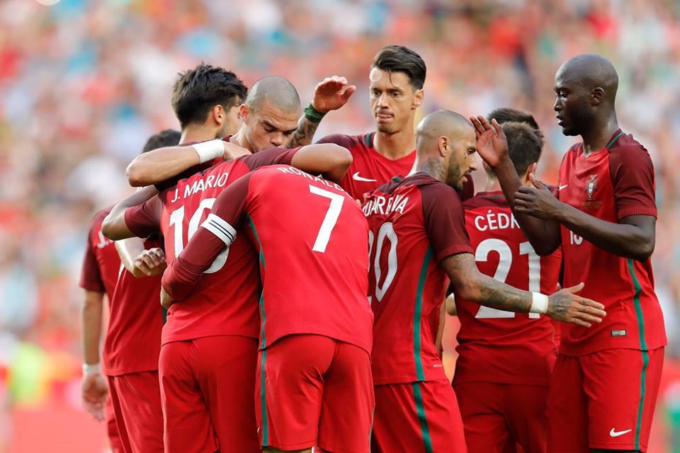 A Seleção Portuguesa procura a glória neste Euro'2016 Fonte: Facebook 'Seleções de Portugal'