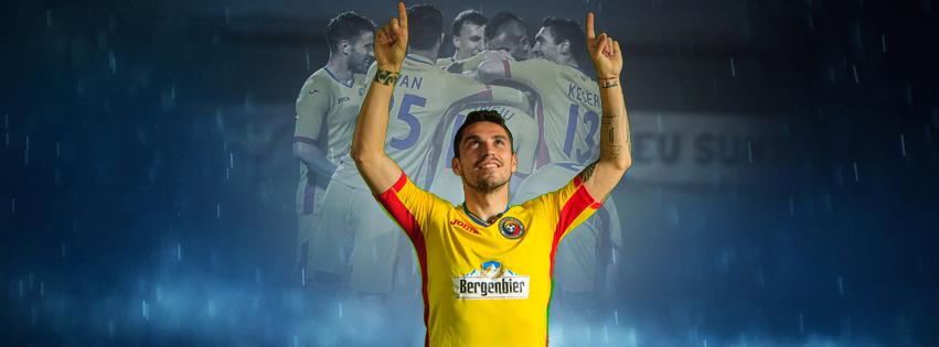Stanciu pode brilhar neste Europeu Fonte: Federação Romena de Futebol
