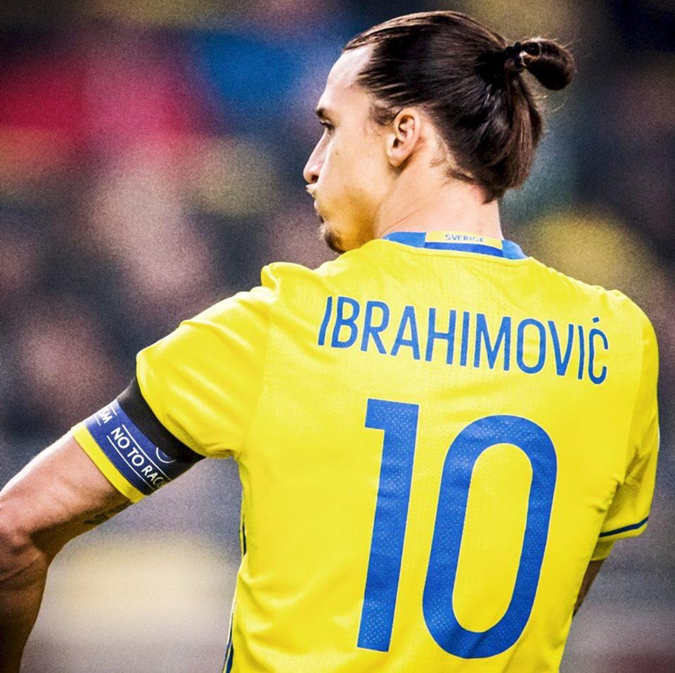 Ibrahimovic, o herói da Suécia, promete golos no Euro 2016 Fonte: Facebook de Ibrahimovic