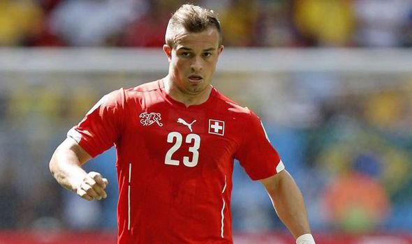 Shaqiri carregou a equipa da Suiça Fonte: UEFA