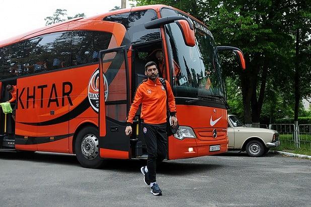Paulo Fonseca antes do seu primeiro treino com o FC  Shakhtar Donetsk Fonte: xsport.ua