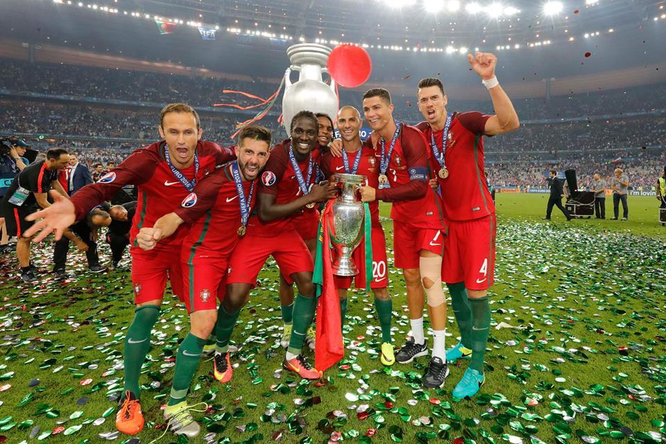 Jogámos como nunca, ganhámos como nunca. Fonte: UEFA