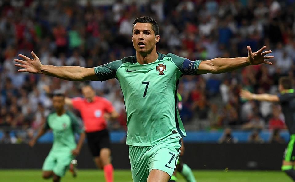 Ronaldo Portugal País de Gales Euro 2016
