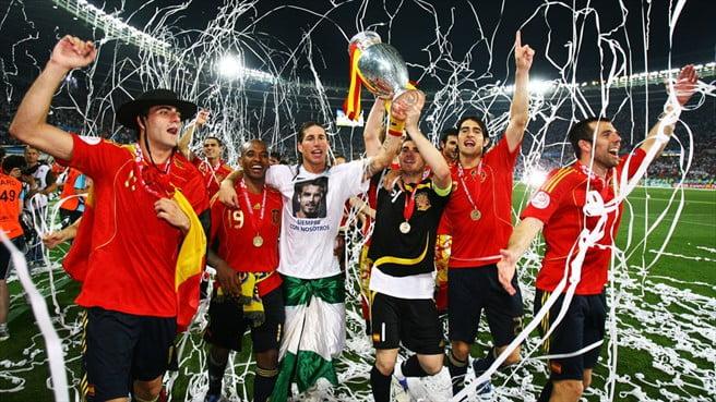 A festa espanhola Fonte: UEFA