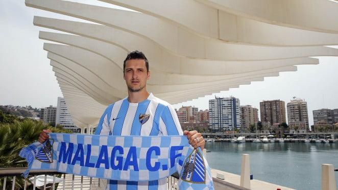Kuzmanovic: O novo homem forte do meio-campo do Málaga CF Fonte: Málaga CF