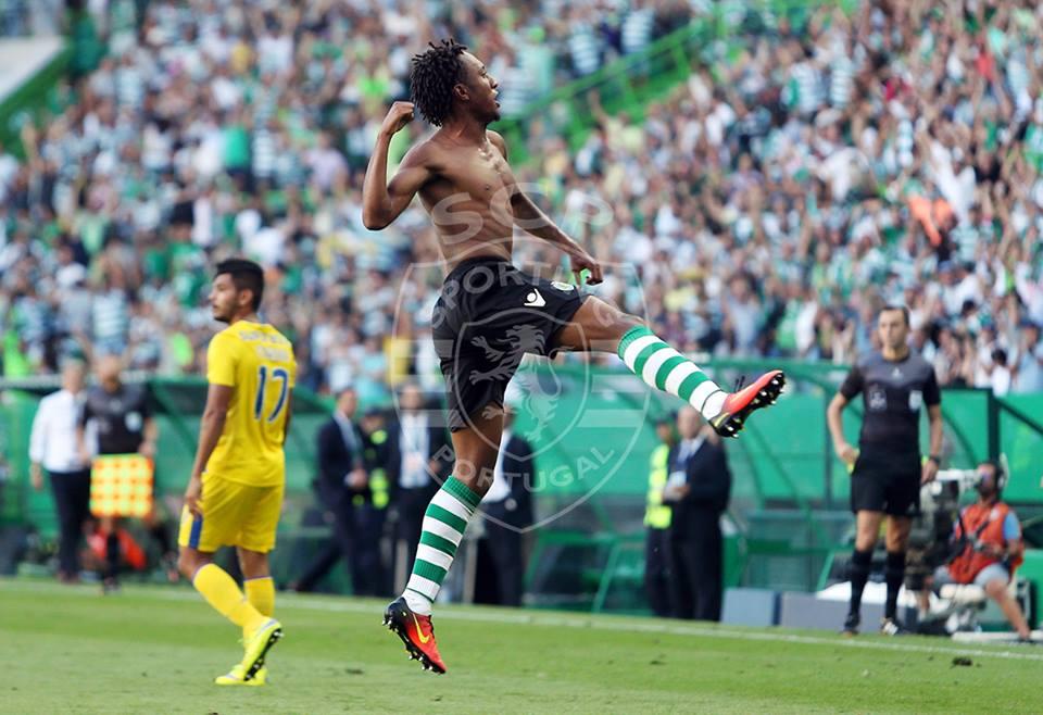 Estará Gelson pronto a ficar com o lugar de João Mário? Fonte: Sporting CP