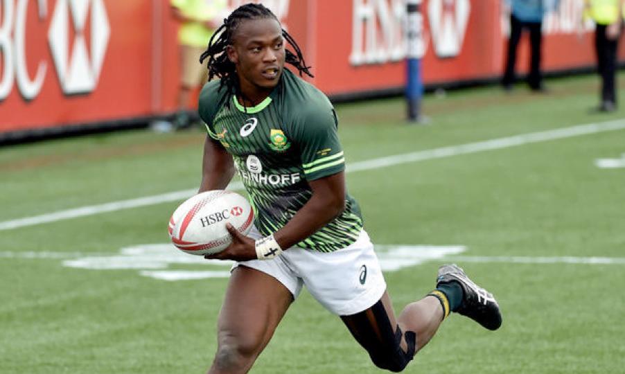 Com Senatla na equipa, os ensaios sul-africanos estarão garantidos Fonte: World Rugby Sevens Series