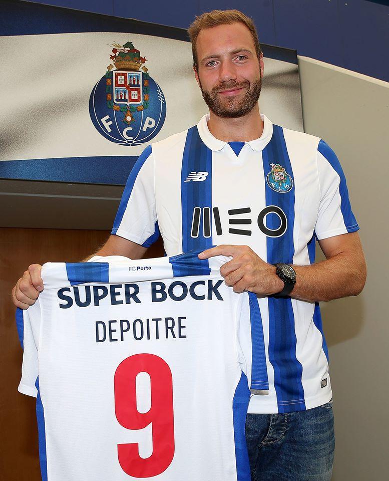 Depoitre, o avançado belga que vai fazer concorrência a André Silva Fonte: FC Porto