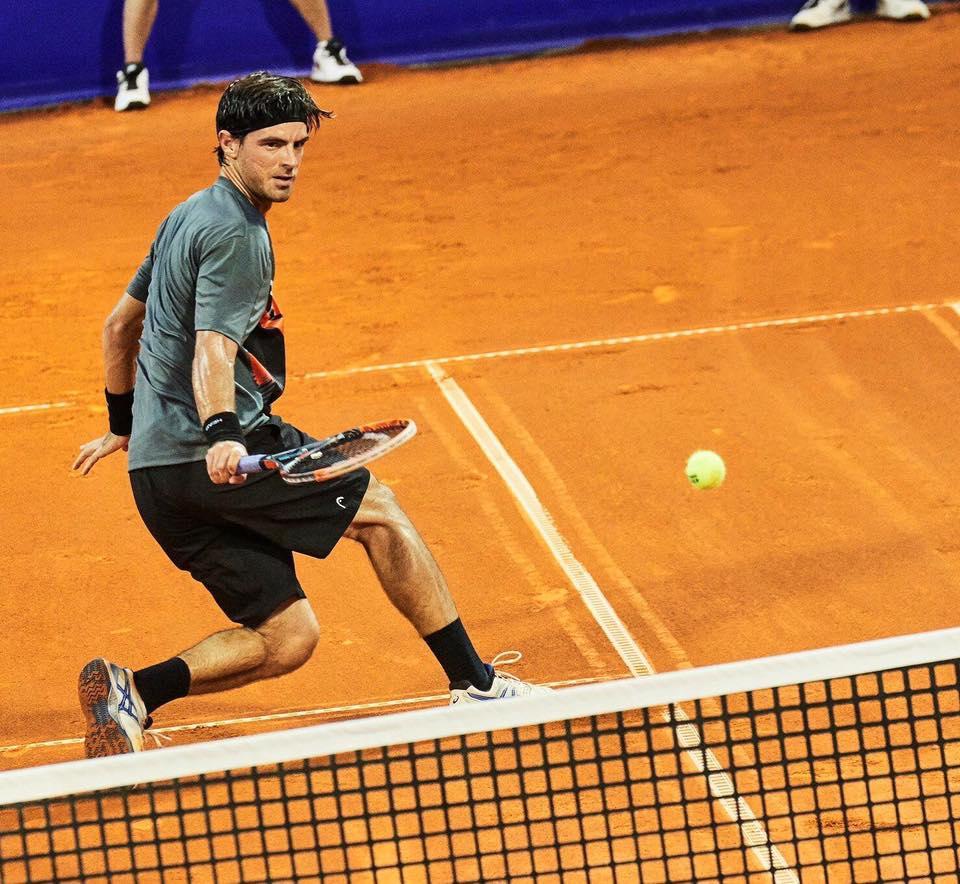 Gastão Elias fez história no ténis português Fonte: Facebook de Gastão Elias