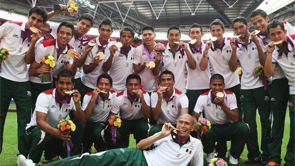 O México é o atual campeão olímpico Fonte; futbol-com.ucoz.ru