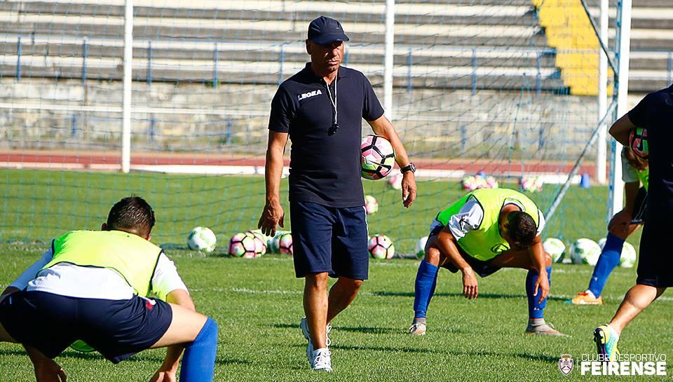 José Mota está de volta à Primeira Liga Fonte: CD Feirense