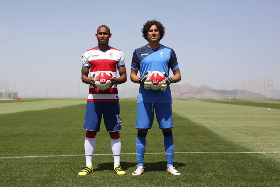 Gabriel Silva e Ochoa, dois dos reforços para a nova época. Fonte: Granada C.F.