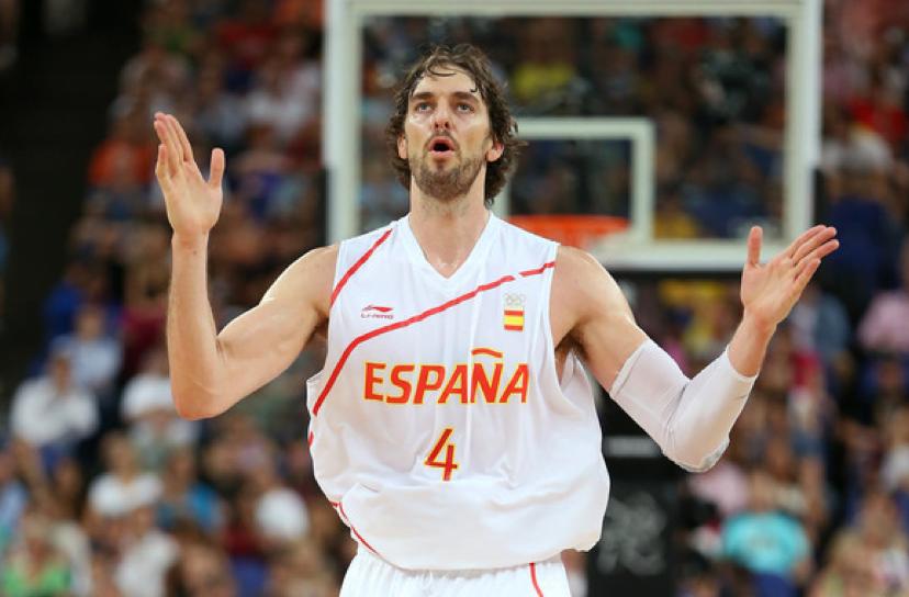 Gasol vai representar a Espanha pela última vez Fonte: FEB