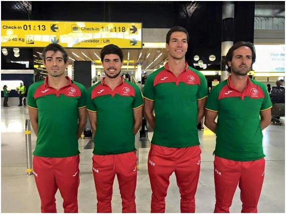 Comitiva que nos representa no triatlo do Rio 2016 Fonte: João Silva