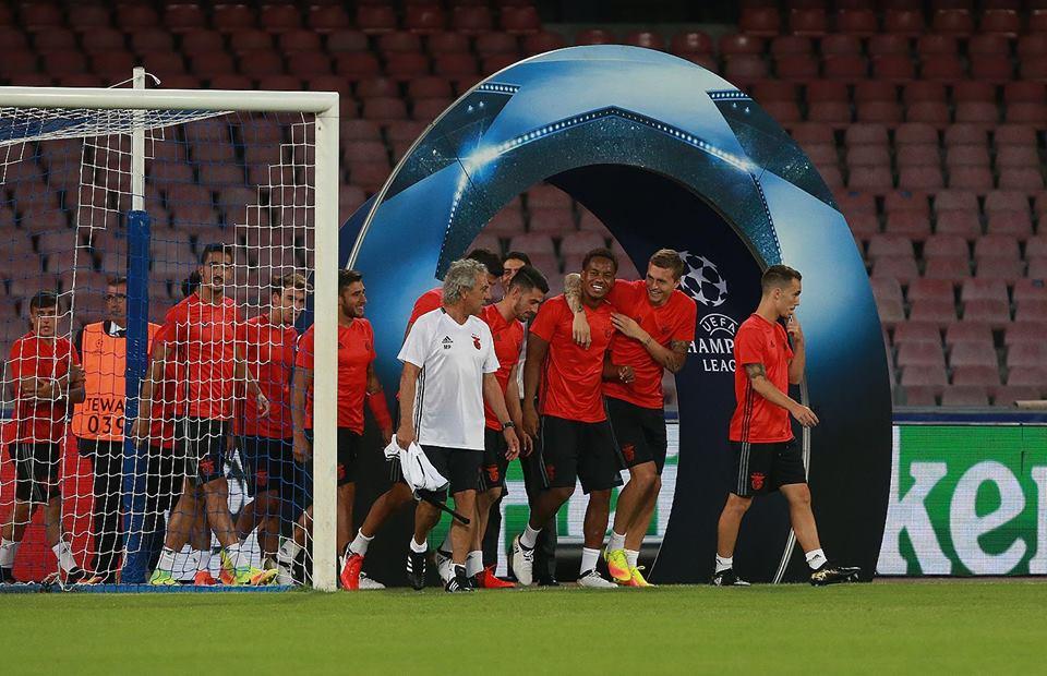 Benfica procura lutar pela Champions com mais seriedade Fonte: SL Benfica