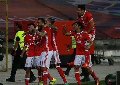 Os encarnados têm resistido com sucesso à onda de lesões do plantel Fonte: SL Benfica