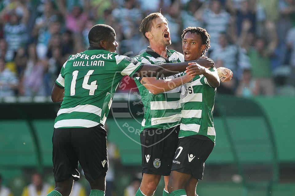 O menino Gelson voltou a fazer o gosto ao pé. Fonte: Sporting CP