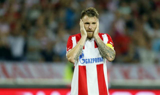 Katai ao serviço do FK Crvena zvezda na temporada passada Fonte: mozzartsport.com