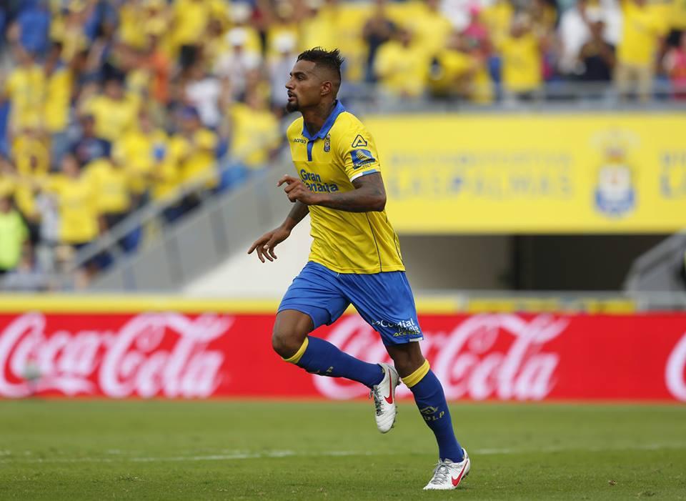 Boateng já leva dois golos pelo Las Palmas Fonte: La Liga