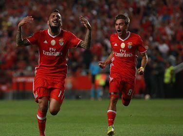 Pese a onda de lesões no plantel, o Benfica está no topo da classificação Fonte: SL Benfica