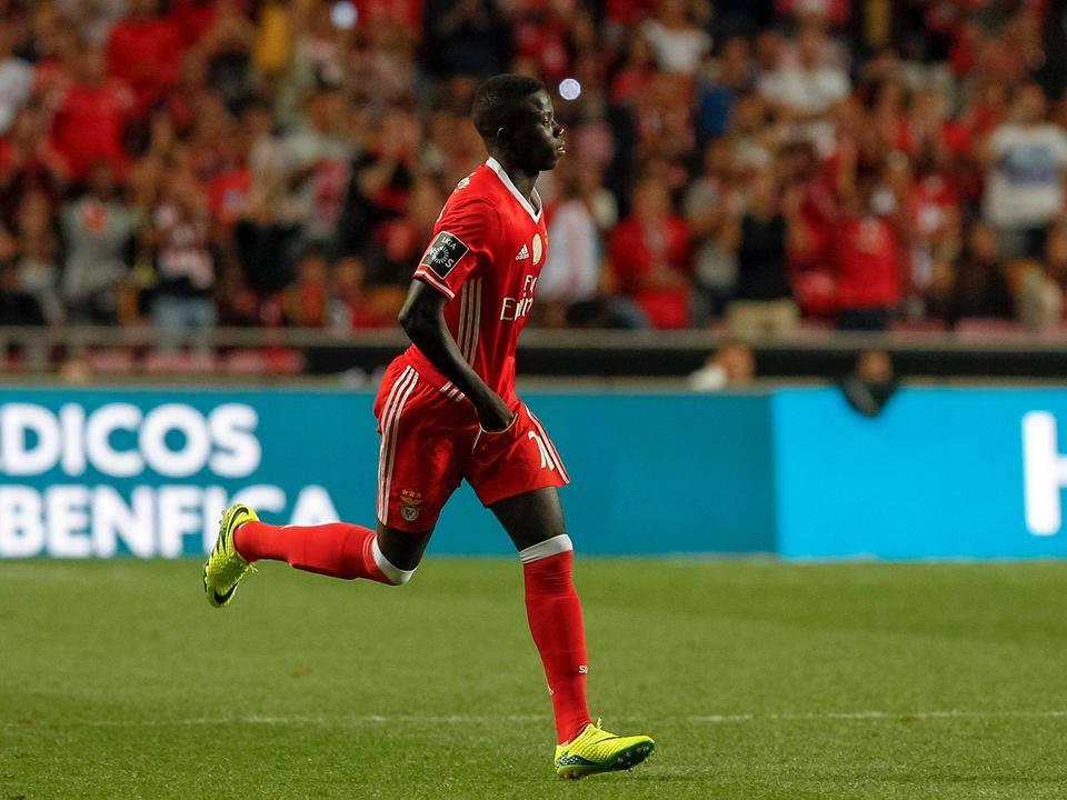 """O novo """"menino"""" da formação do Seixal Fonte: SL Benfica"""