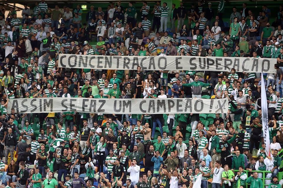 Os adeptos leoninos sabem o que querem e cumprem com a sua parte Fonte: Sporting CP