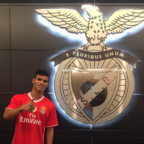 Danilo é reforço do SL Benfica para esta época Fonte: SL Benfica