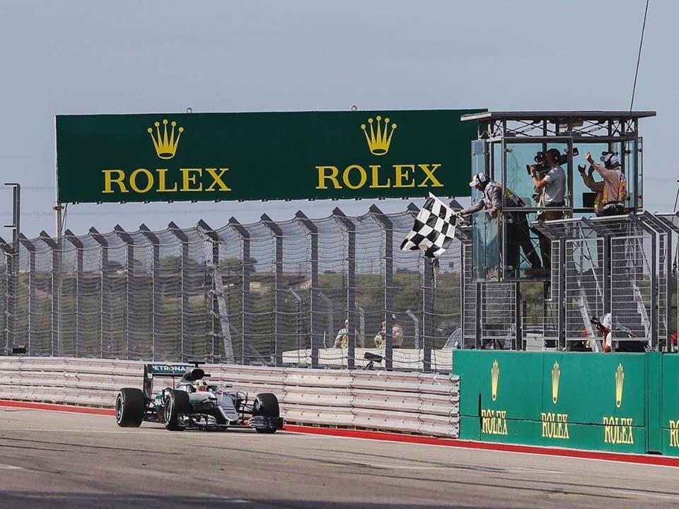 Lewis Hamilton conquistou a quarta vitória em Austin Fonte: Mercedes AMG Petronas