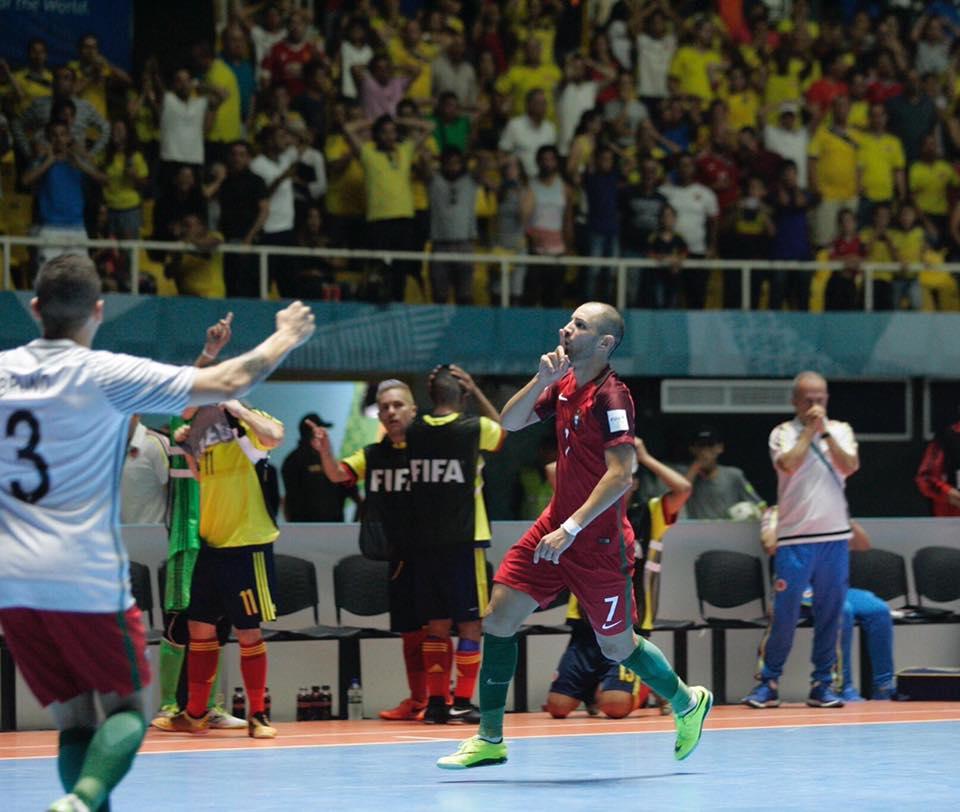 Cardinal marcou dois golos no tempo regulamentar, que não foram suficientes para ganhar Fonte: Cardinal