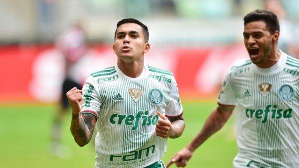 O Palmeiras continua firme, na frente Fonte: Guia do Boleiro