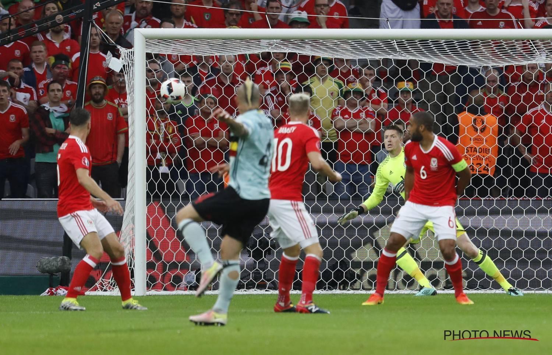 Golo de Nainggollan de pouco serviu à Bélgica nos quartos-de-final do Euro 2016 Fonte: Belgian Red Devils