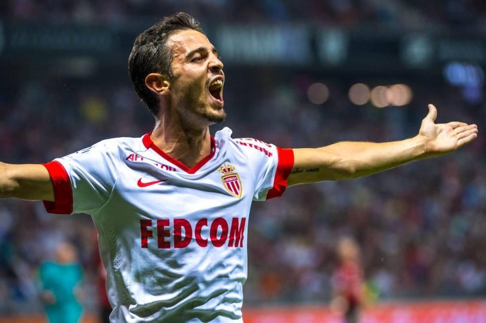 Bernardo Silva tem tido papel importante na veia goleadora do Monaco Fonte: AS Monaco