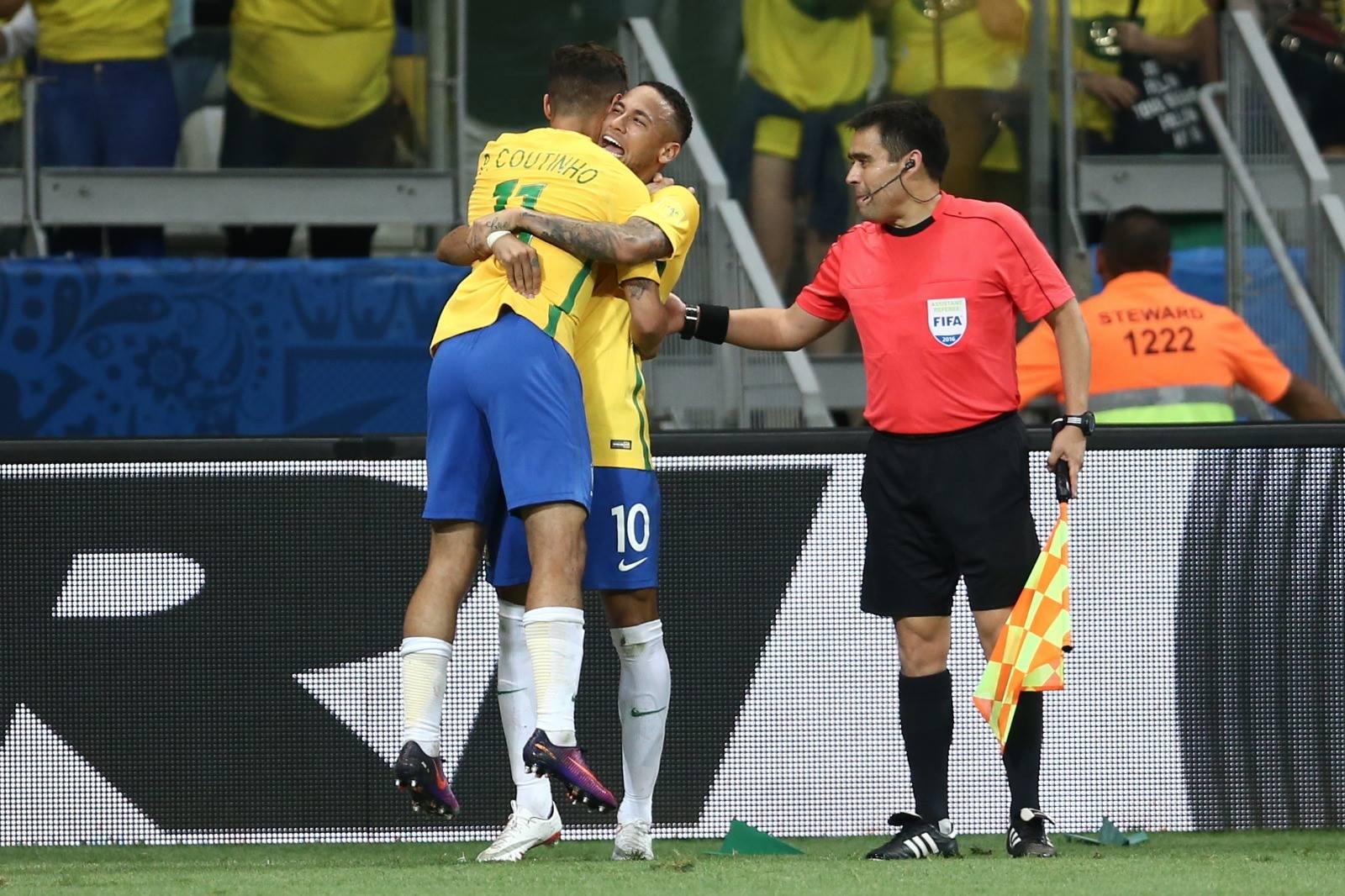 Coutinho&Neymar, uma sociedade odiada em toda a Argentina Fonte: CBF