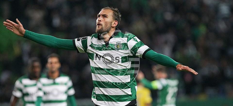 O avançado leonino fez o que era preciso ser feito: Golos Fonte: Sporting CP