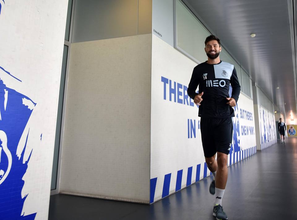 Felipe foi reforço do FC Porto para esta época Fonte: FC Porto