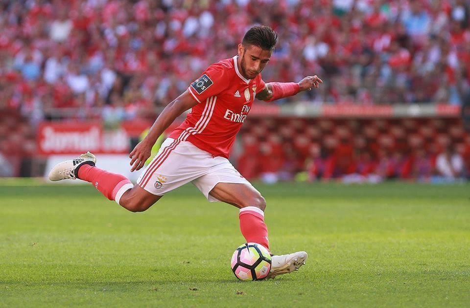 'Toto' Salvio tem estado em bom plano na equipa de Rui Vitória Fonte: SL Benfica