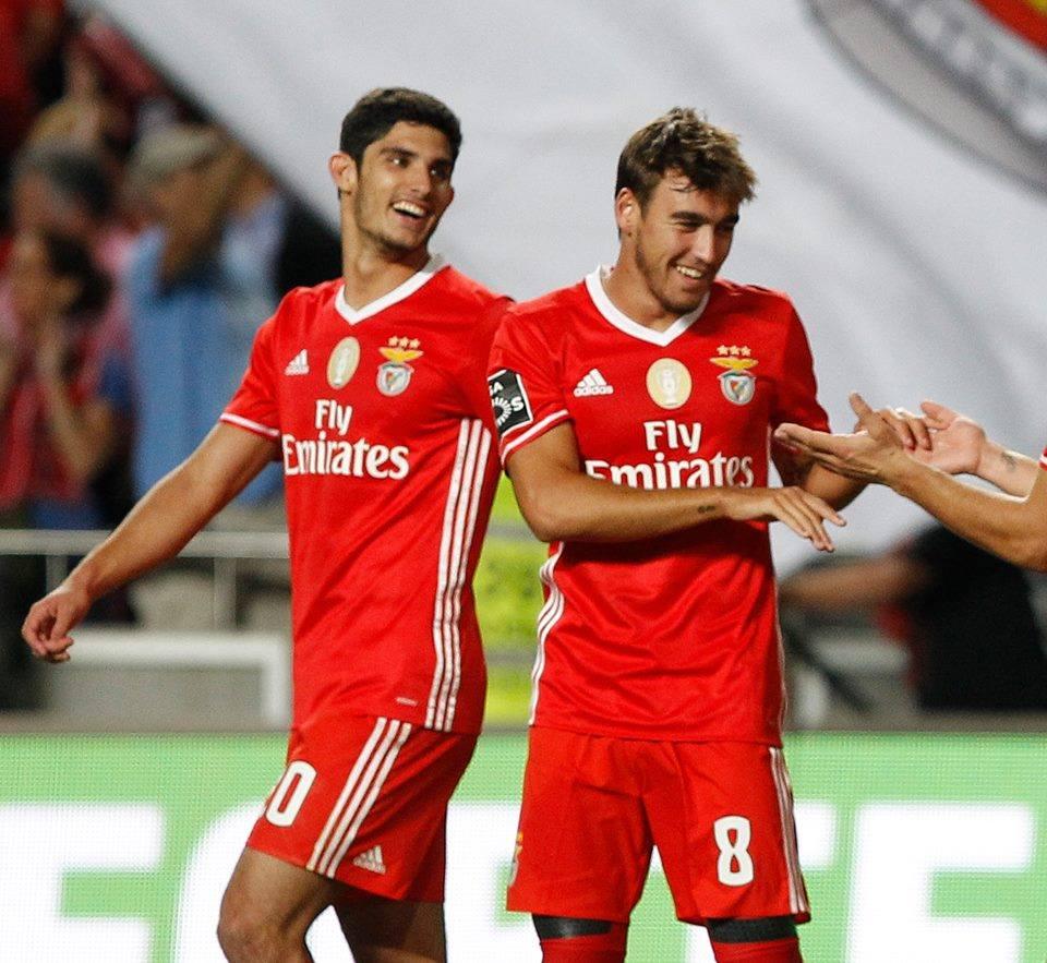 Guedes e Horta, o futuro do Benfica Fonte: SL Benfica