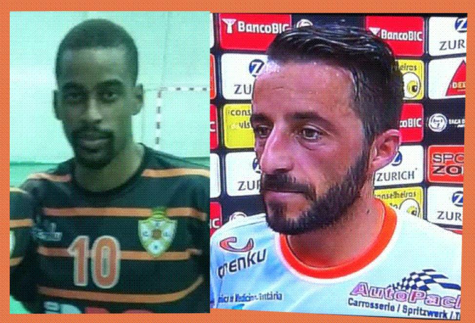 Na imagem vemos os dois jogadores que abandonaram o Unidos, por falta de patrocínios Fonte: Unidos Pinheirense