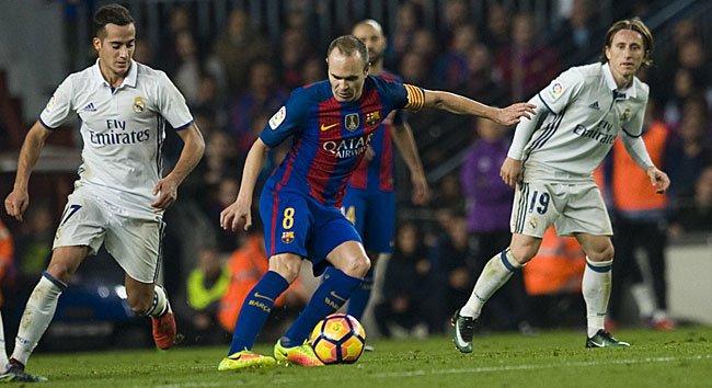 Entrada de Iniesta mudou o jogo Fonte: Marca