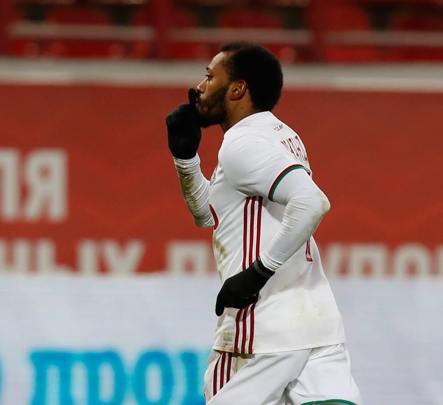 O jogador português tem-se evidenciado no emblema moscovita Fonte:FC  Lokomotiv Moscow