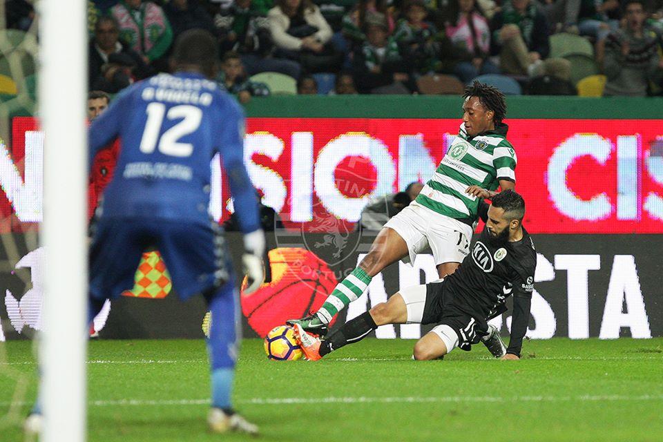 Gelson teve uma noite menos energética do que o habitual Fonte: Sporting CP
