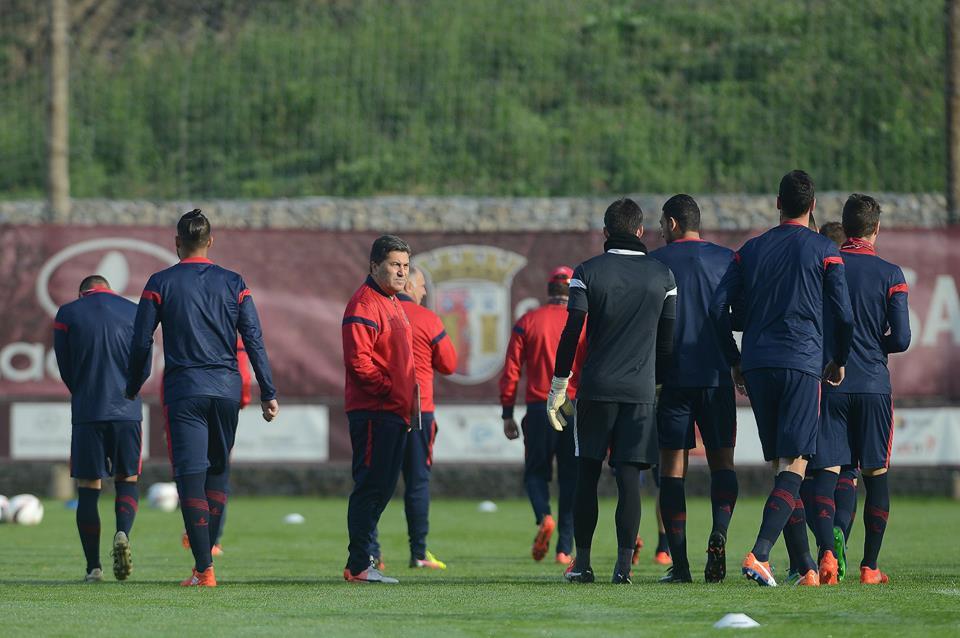 Acabou a paciência com José Peseiro Fonte: SC Braga