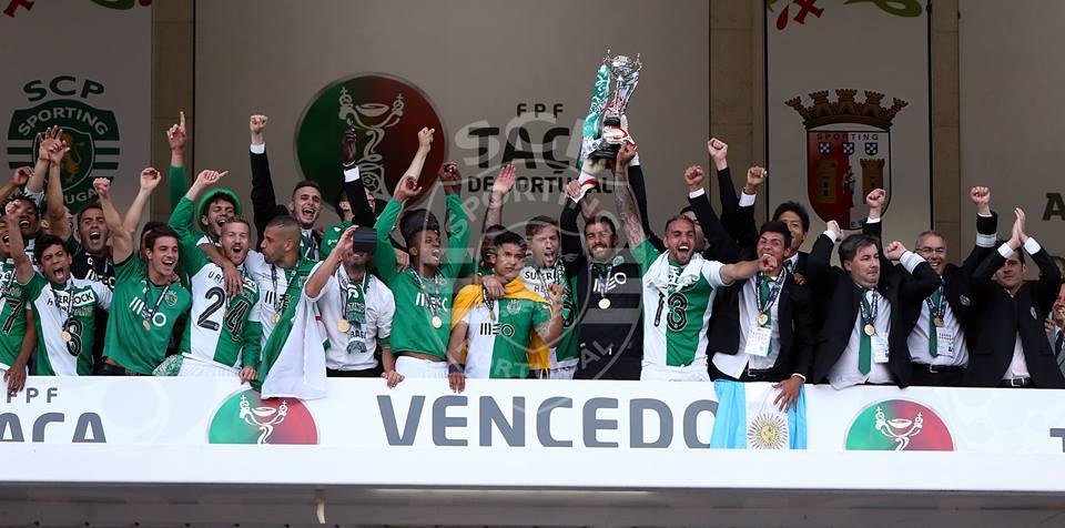 O Sporting procura repetir o triunfo de 2015 nesta competição Fonte: Sporting CP