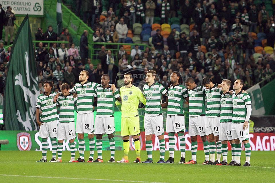 Tem de ser um Sporting unido a entrar em campo no Restelo Fonte: Sporting CP