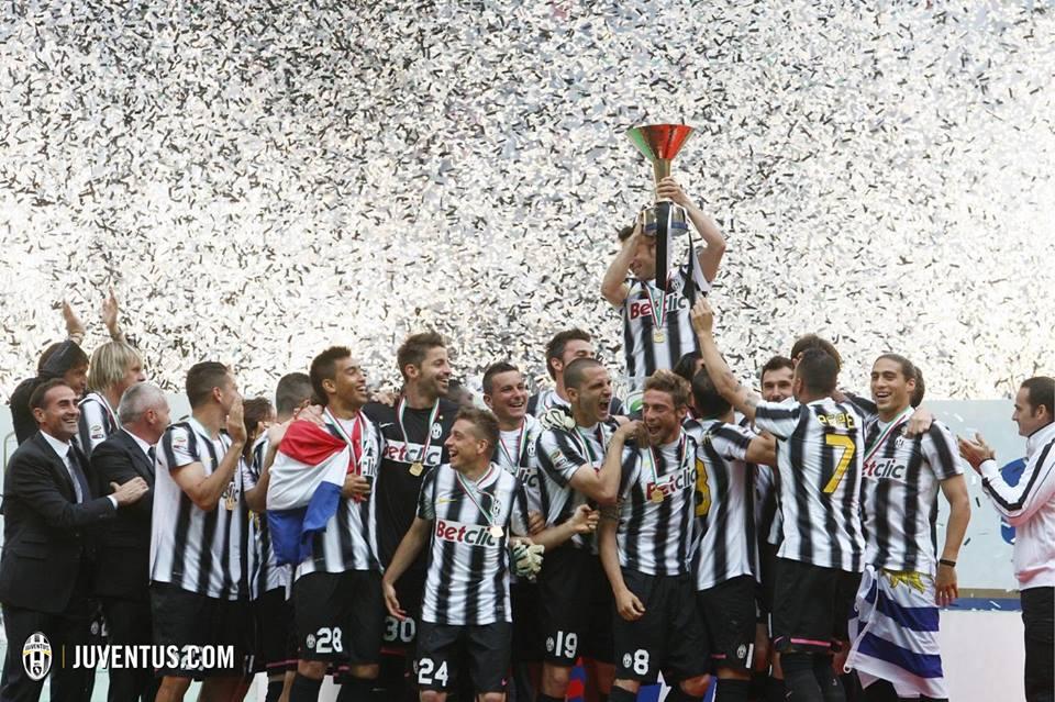 Uma imagem repetida várias vezes em Itália- Fonte: Juventus
