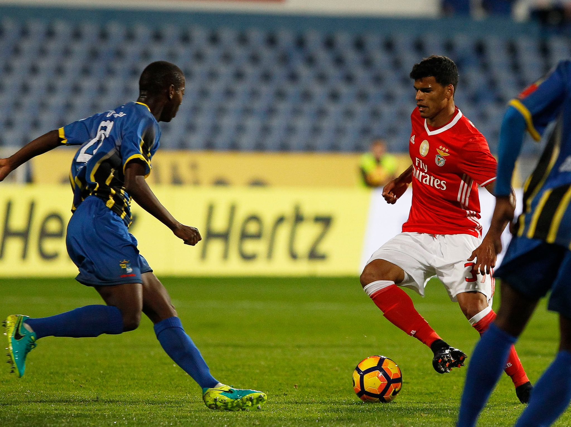 Nacional Benfica: Real SC 0-3 SL Benfica: E Tudo Guedes Mudou